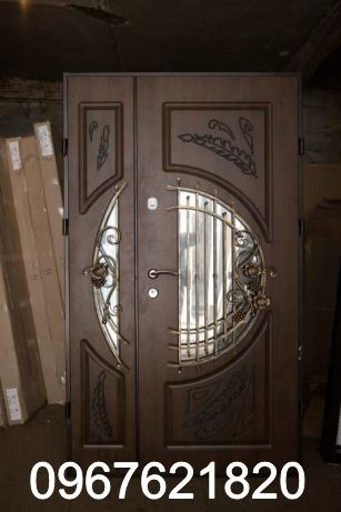 Двері вхідні внаявності на складі Українські