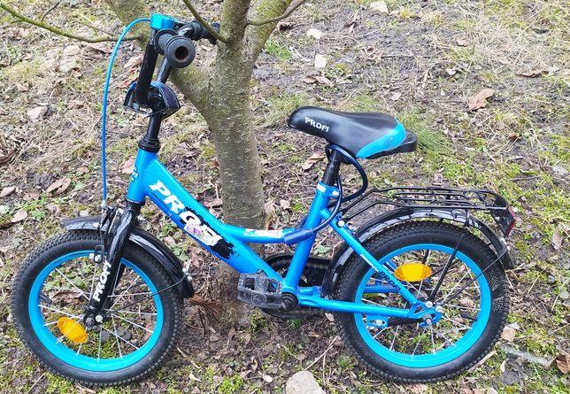 Велосипед дитячий для хлопчика Profi 14 діаметр колес