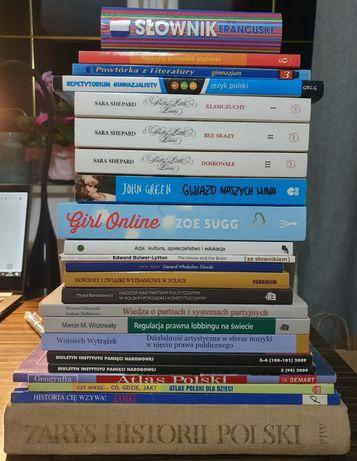 Książki różna tematyka