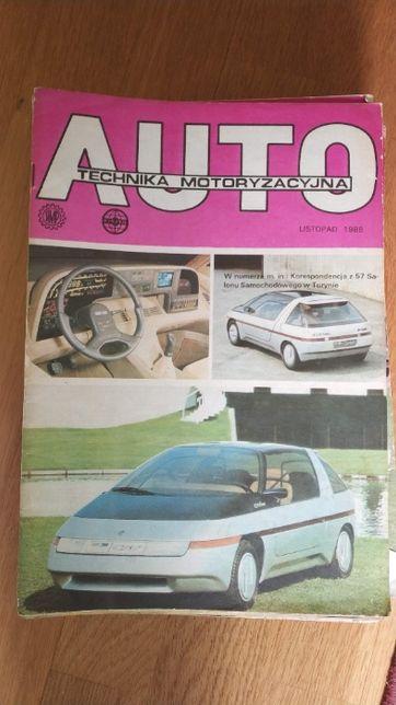 Czasopismo Auto Technika Motoryzacyjna vintage lata '80 '90