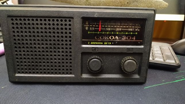 Раритетный радиоприемник Сокол-304