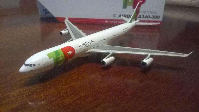 Tap air Portugal Airbus 340