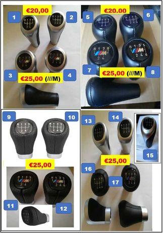 """BMW Manete/Moca mudanças """"Originais"""" e ///M vários modelos"""