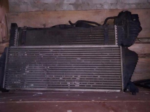 Радиатор Интеркуллера Спринтер 312 двигатель OM602