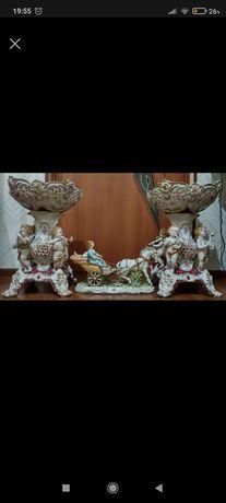 Фарфоровый комплект Мейсен, Meissen,статуэтка