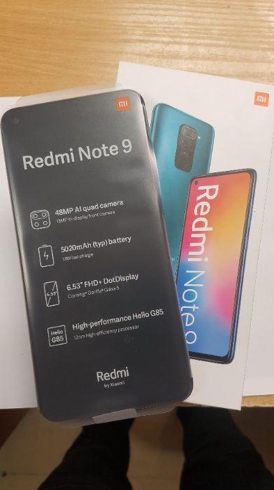 Smartfon Xiaomi Redmi Note 9 3GB+64GB NOWY ! Lombard Dębica
