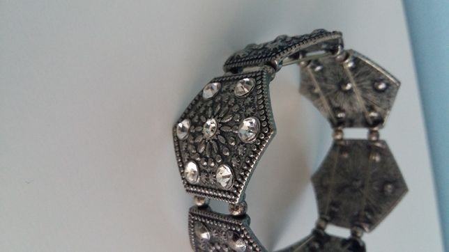 Bransoletka orient metal kryształki