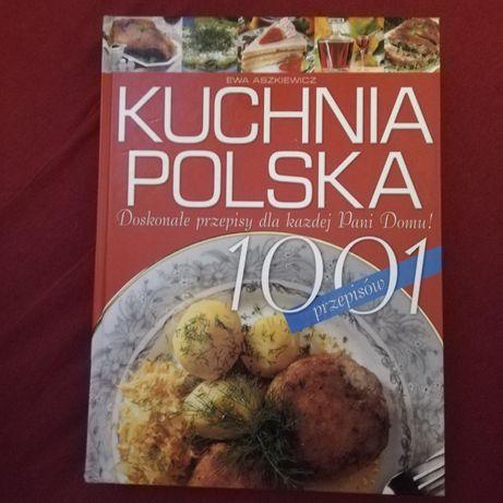 Książka kucharska - kuchnia Polska 1001 przepisów