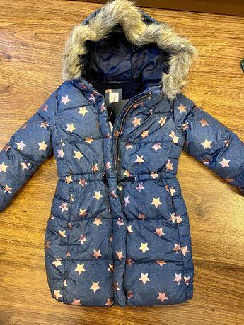 Новый пуховик пальто GAP оригинал 5Т (зимняя куртка GAP) 104-112см