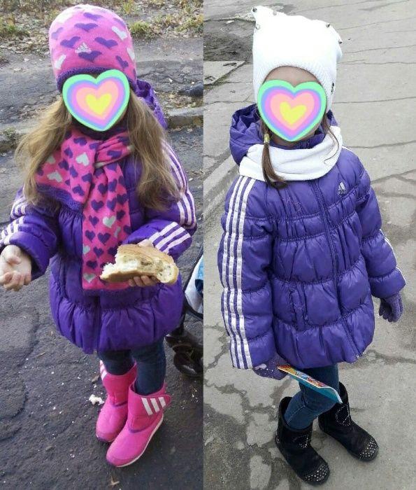 Деми куртка Adidas на 5-6 лет Николаев - изображение 1