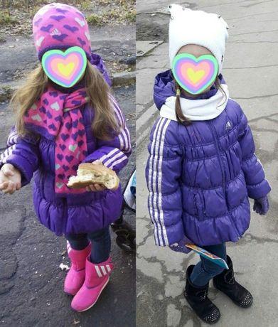 Деми куртка Adidas на 5-6 лет