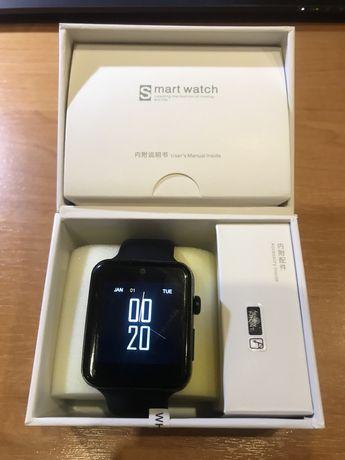 Smart watch DM09 LF07 Original black смарт умные часы