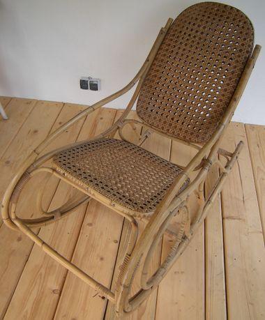 fotel bujany - przedwojenny