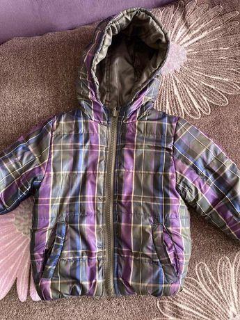 Продам куртку Zara(двух сторонняя)демисезонка.