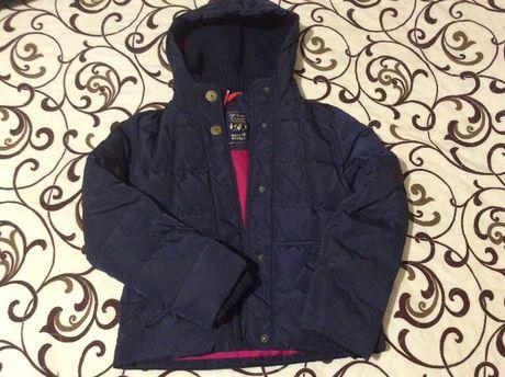 Куртка пуховик для девочек 134-140см 200грн.