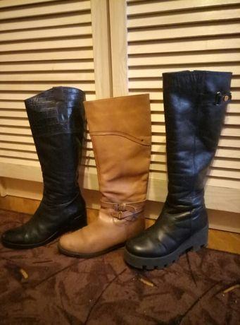 Осінні шкіряні чоботи / осенние кожаные сапоги