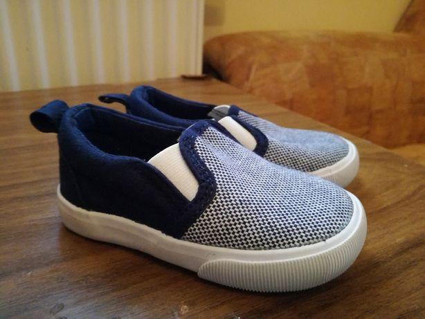 Buciki kapcie buty dla niemowląt H&M 13 cm wkładane jak nowe