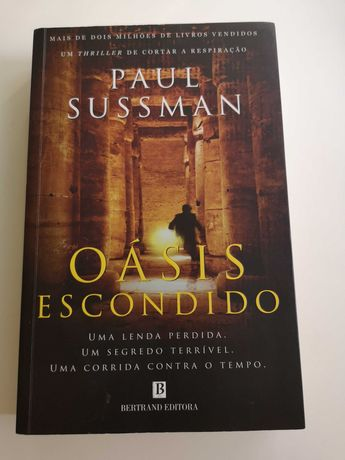Oásis escondido, de Paul Sussman