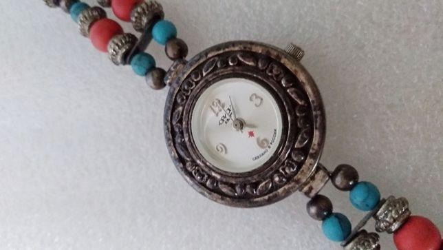Часы Орион коллекционные, 2006 года выпуска, мельхиор, новые