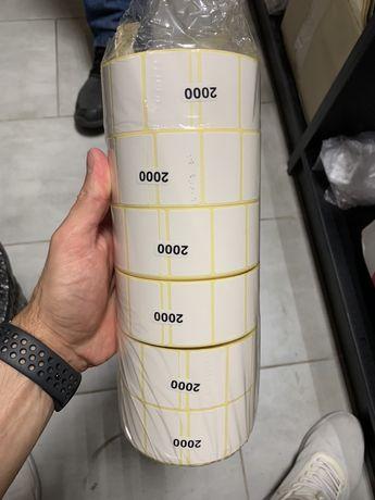 Термоэтикетка 40х25  2000шт
