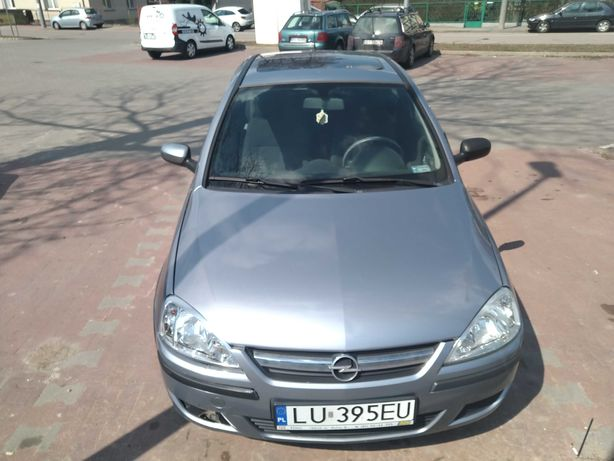 Opel corsa 2003 srebrny