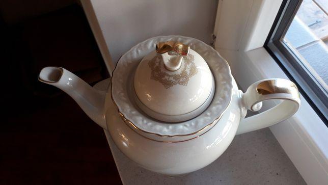 Hertel Jacob stary dzanek porcelanowy ecru