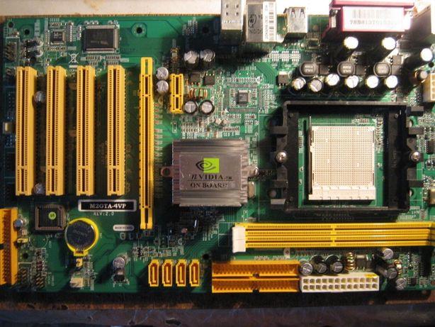 Продам недорого материнскую плату Nvidia M2GTA-4VP, под ремонт.