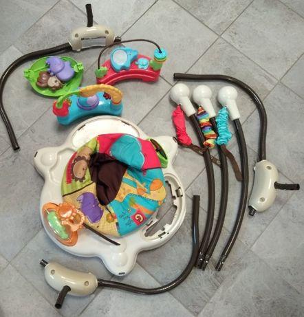 Chodzik jeździk dziecięcy dla dziecka interaktywny Fisher Price