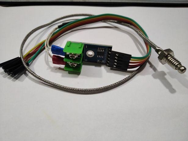 Термопара К-типа + модуль усилитель на MAX6675 для Arduino STM