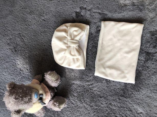Детская шапочка + хомут(комплект)40-44см
