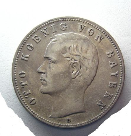 Германия, 5 марок 1900 года, серебро