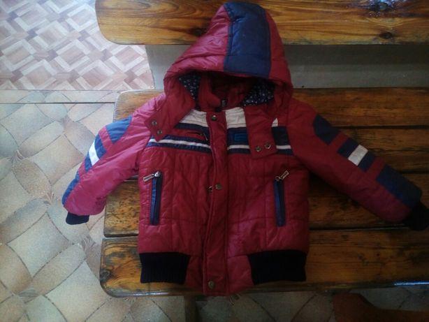 Куртка зимняя на мальчика 5-7 лет