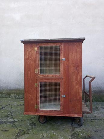 Nowe klatki dla królików