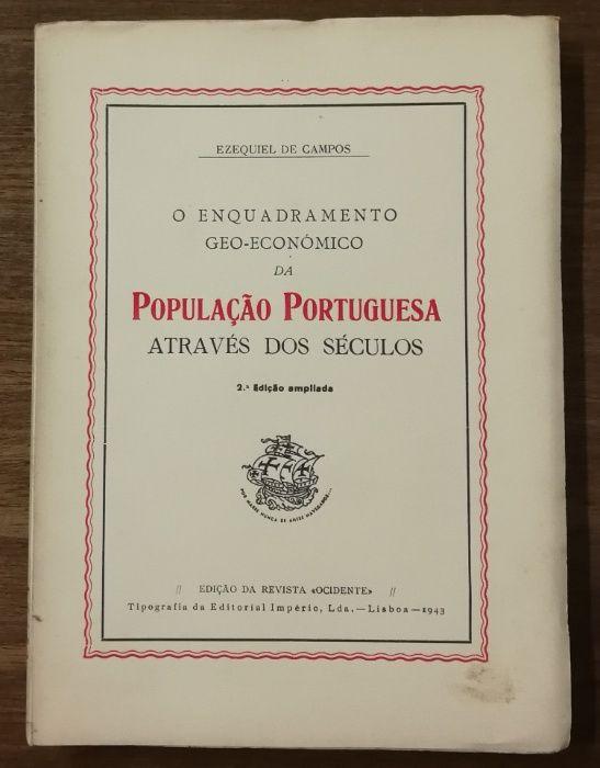 população portuguesa através dos séculos, ezequiel de campos Estrela - imagem 1