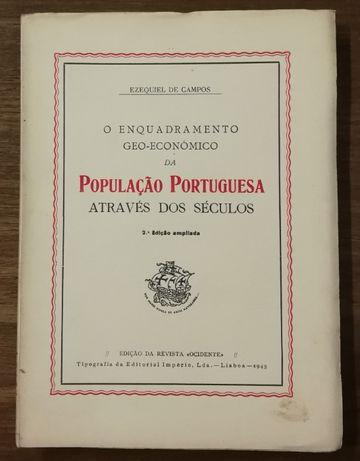 população portuguesa através dos séculos, ezequiel de campos