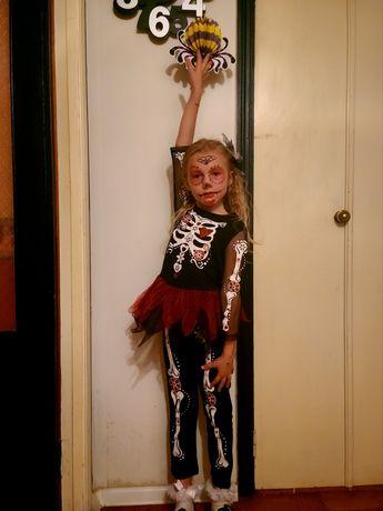 Костюм скелета, скелетика на Хэллоуин
