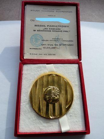 medal pamiątkowy WOP