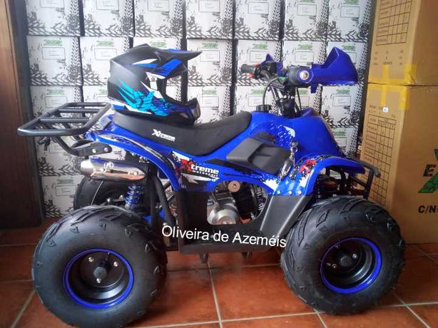 Moto4 125cc Motor 4 Tempos para adolescentes