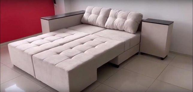 Ліжко 160*210см - кутовий диван. Ламелі. Бонель. Без ДСП.