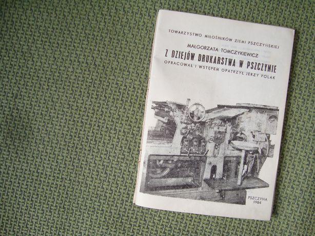Z dziejów drukarstwa - oferta z foto'opisem