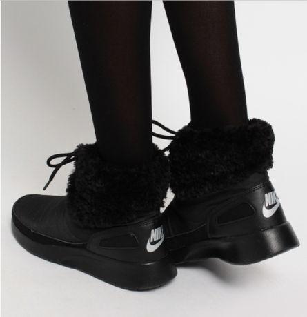 Новые сникербуты Nike кроссовки ботинки на меху сапоги найк