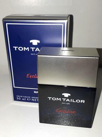 Perfum męski świeży Tom Tailor Exclusive  Man 30 ml NOWY, prezent