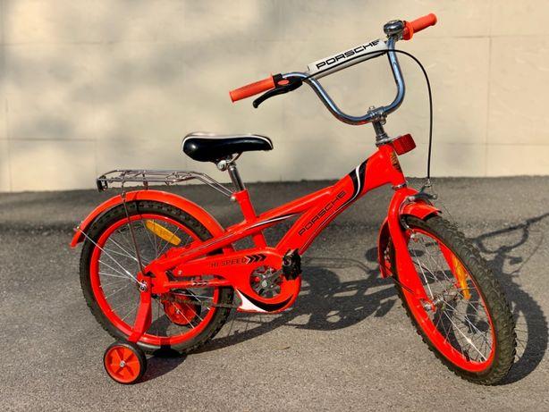 """Детский Велосипед 5-10 Лет. PORSCHE 18"""" Колеса. Отличное Состояние!"""