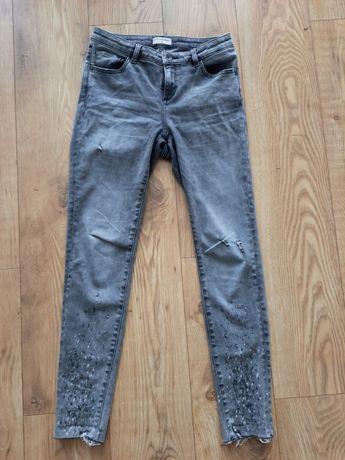 Zestaw 3 par spodni jeansow 36 S