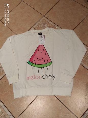 Nowa bluza Sinsay melon M