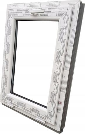 OKNA KacprzaK OKNO PCV 60X80 Nowe okno plastikowe