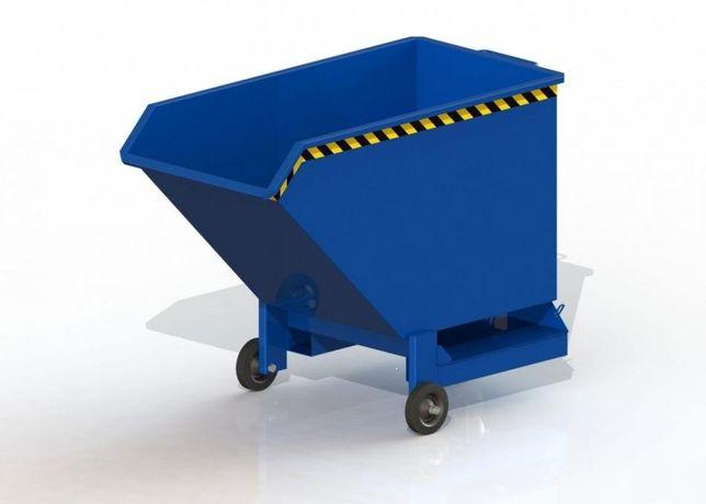 400-litrowy kontener samowyładowczy na kołach