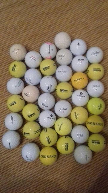 39 Bolas de golfe