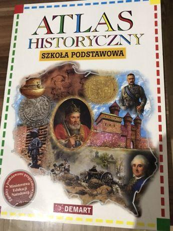 Książka atlas historyczny szkoła podstawowa
