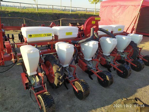 Сеялка УПС-8 ,6 ,4 СУ-8 6 4м СУПН точного высева кукурузная